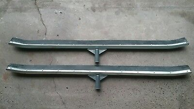 """Two 36"""" Industrial Duty Curved Floor Squeegees"""