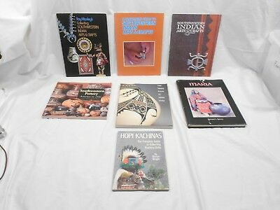 Lot Of 7 Pottery, Indian Arts And Crafts Collecting Books