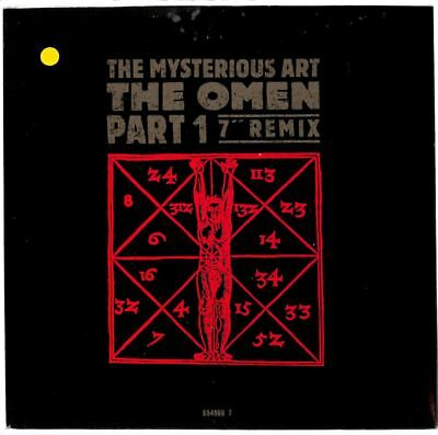 """Mysterious Art - The Omen Part 1 (Remix) - 7"""" Record Single"""