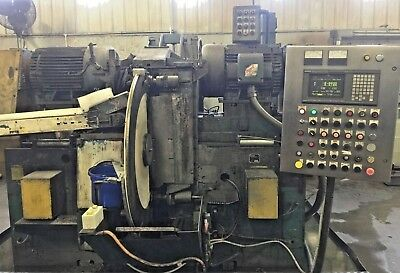 "Running! GARDNER SDG6-42 42"" Wheels Double Disc Opposed Face Grinder with Fanuc"