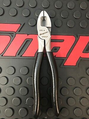 "NEW Snap-on 7"" Black lineman's pliers 57AHLP"