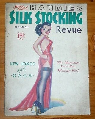 MOVIE STARS HANDIES SILK STOCKING REVUE Vol 1 No 2 DEC 1936 VERY REAR