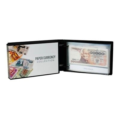 Currency Collection Wallet/Album Kit, 25 Pages Included