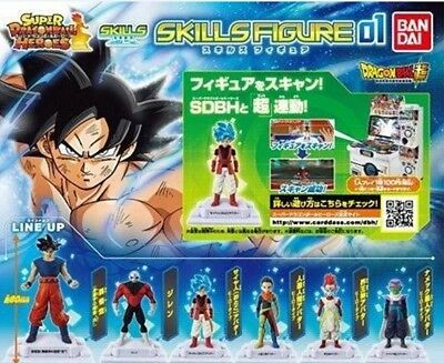 Dragon Ball Heroes Set Gashapon Skills 01 Bandai New