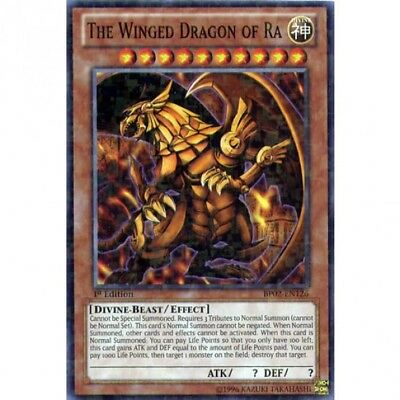 Yu Gi Oh ! The Winged Dragon of Ra BP02-EN126 (Le dragon ailé de Ra)