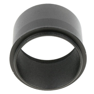 "2"" 50.8mm to M48*0.75 Mount Adapter with Thread for Telescope Eyepiece Black"
