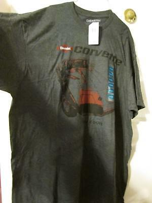 1974 Corvette Coupe Quality T- Shirt ~ Size Xl ~ Brand New With Tag ~ Charcoal