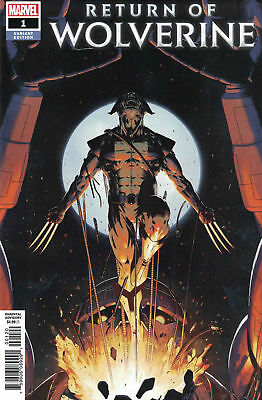Return of Wolverine #1 1:25 Christopher Variant