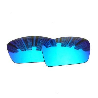 7fc48122f1 HAWOIGCI Polarized Blue Replacement Mirror Lenses For-Oakley Gascan  Sunglasses