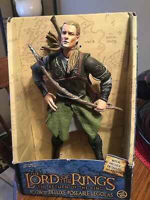 """The Lord Of The Rings, The Return Of The King 11""""/28cm Deluxe Poseable Legolas"""