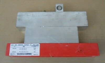 1 New Square D H600Sn Neutral Assembly Insulated Groundable 600A 600 Amp