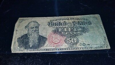 Fractional Currency, Stanton, 4th Issue? 50 cent