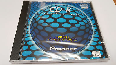 Pioneer Cd-R Rdd-74B Compact Disc Recordable Neuf N&S