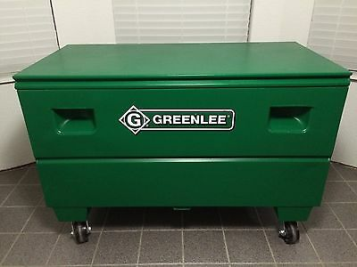 Greenlee Storage Tool Box~Hd2448/06326~Casters & Master Locks~Oklahoma City