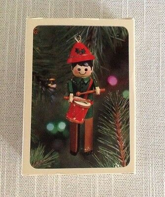 1981 Hallmark Keepsake Ornament ~ Clothespin Drummer Boy