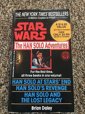 Star Wars The Han Solo Adventures Paperback Book 3 Books In 1 Brian Daley Sci-Fi