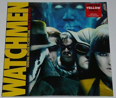 Watchmen ( Original Motion Picture Score ) New Limited 2018 Yellow Vinyl NEW