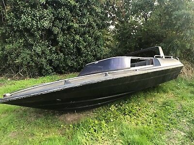 Broom speed boat - 16ft - ideal winter project