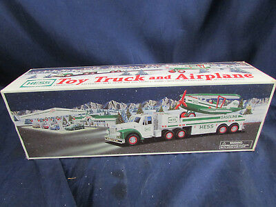 Hess Toy Truck And Airplane 2002 W/Box