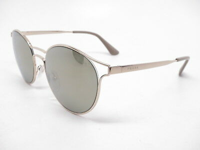 717b982d886 Authentic Prada SPR 62S ZVN1C0 Pale Gold w Light Brown Mirror Gold  Sunglasses