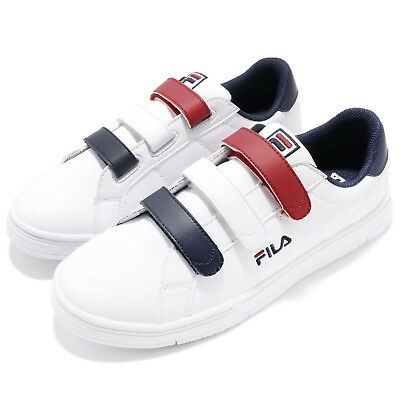 dcb88ee29161 FILA C321S LOW Strap White Navy Red Men Shoes Sneakers Trainers ...