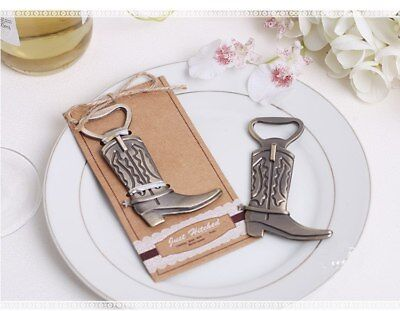 """POPIGIST® 100pc/lot """"JustHitched"""" Cowboy Boot Bottle Opener European Shoe Opener"""