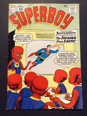 Superboy #88 (Apr 1961, DC) CLASSIC LEGENDARY COMIC BOOK SUPERHERO SERIES