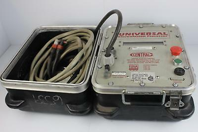 Central Plastics Company Universal Electrofusion Processor with Cables and Case