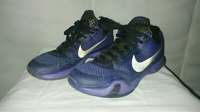 hot sale online 4fae0 29877 Nike Air Kobe X Black Persian Size 8 705317 005 Zoom Fade To Blackout Purple