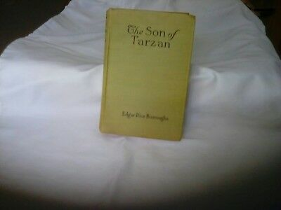 Vintage The Son Of Tarzan By Edgar Rice Burroughs Hb 1St 1917 A.l. Burt Co.