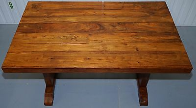 Solid Rosewood Dining Table Seats 6 Lovely Timber Patina Rare Find Must See Pics