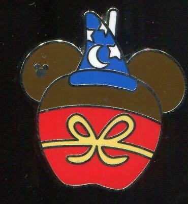 WDW 2015 Hidden Mickey Character Candy Apples Sorcerer Mickey Disney Pin 108475