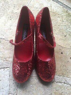 DOROTHY RUBY SLIPPERS Size 9