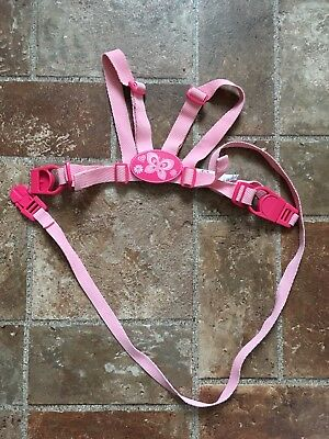 Pink Mothercare Child Toddler Girls Safety Harness