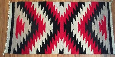 Navajo Rug by Celena Daniels, Eye Dazzler pattern, great colors, tight weave