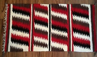 Navajo Rug by Alice Spencer, Eye Dazzler pattern, great colors, tight weave