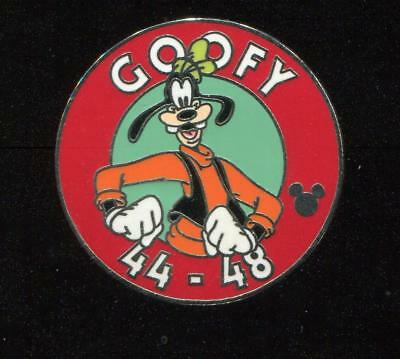 WDW Cast Lanyard Collection 4 Magic Kingdom Parking Sign Goofy Disney Pin 42023