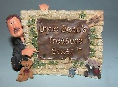 Boyds Treasure Box Collection Sign - Uncle Bean & The Mcnibble Gang...