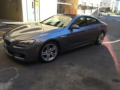 2014 BMW 6-Series Gran Coupe M Package 2014 BMW 640i xdrive gran coupe