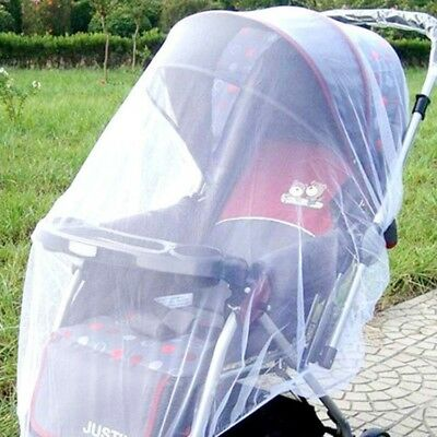 1Piece Baby Buggy Pram Mosquito Cover Net Pushchair Stroller Fly Insect Prevent