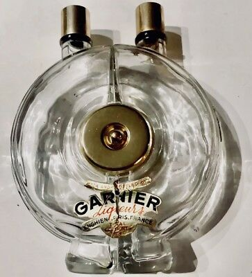 Garnier Antique 2 Chanber Liqout Decanter