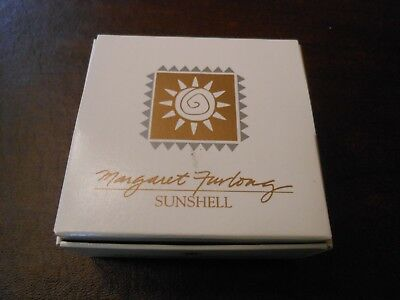 Margaret Furlong SUNSHELL Coastal Christmas Ornament 1993 in box; shell, beach