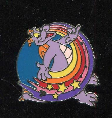 WDW Cast Lanyard Collection 4 Figment Rainbow 3 Disney Pin 41995