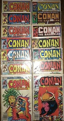 CONAN THE BARBARIAN Issues 139,142,171,172,180,181,184,188,190,217,221,232,242