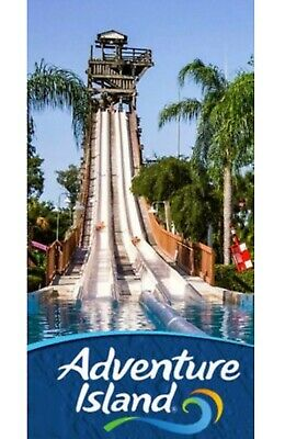 Adventure Island Tampa Bay Waterpark Tickets $38 A Promo Discount Tool Savings!