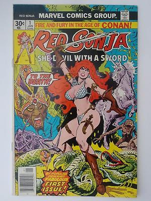 Red Sonja #1 (Fn/vf 7.0) First Issue! Classic Cover! Bronze Age Gem!