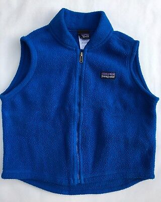 Patagonia Boys Girls Lightweight Synchilla® Fleece Vest 2T