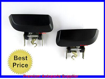 For NISSAN PATHFINDER R51 Outside Door Handle Rear Left Right Pair Side NEW