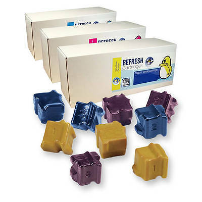 Refresh Cartridges 108R00661/62/63 C/m/y Colour Wax Sticks Compatible With Xerox