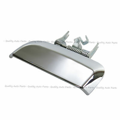 Fits NISSAN PATHFINDER R51 Outer Rear Right Door Handle Chrome Silver